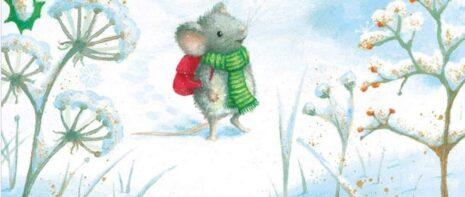 "Rebecca Harry ""Ένα σπίτι για το Ποντικάκι των Χριστουγέννων"" από τις εκδόσεις Ίκαρος"