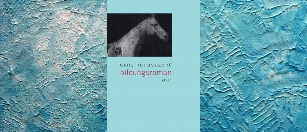 """῎Ακης Παπαντώνης """"bildungsroman"""" από τις εκδόσεις Κίχλη"""